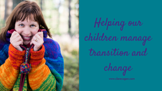 Helping our children manage transition and change