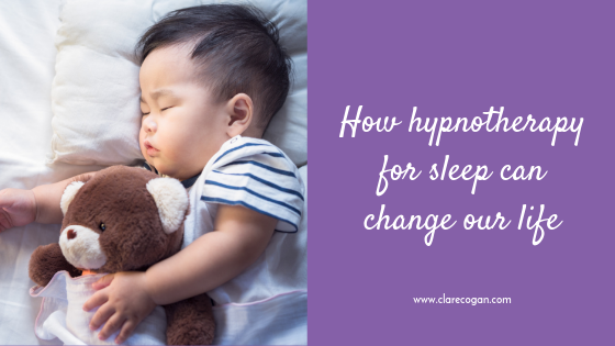 How hypnotherapy for sleep can change our life.