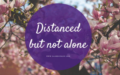 Distanced but not alone